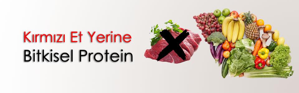 Kırmızı Et Yerine Bitkisel Protein